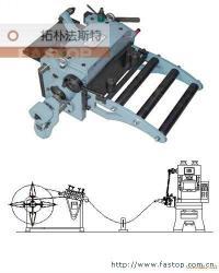 机械滚轮式送料机送料角度