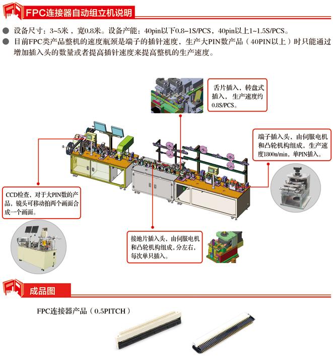 FPC连接器自动机